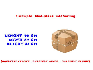 Calculating the Chargeable Weight