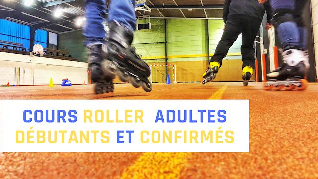 cours adulte roller quad debutant evry  club association essonne