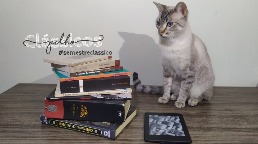 Clássicos Julho hashtag semestre clássico