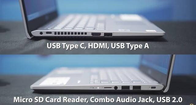 konektivitas ASUS laptop