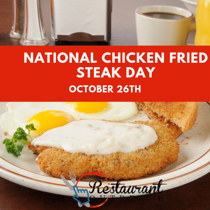 National Chicken Fried Steak Day Wishes