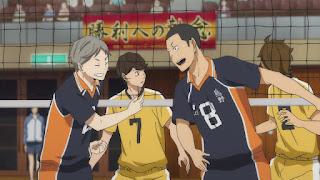 ハイキュー!! アニメ 2期15話 成田一仁   HAIKYU!! Karasuno vs Johzenji