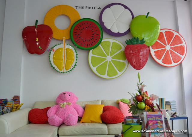The Frutta Boutique reception