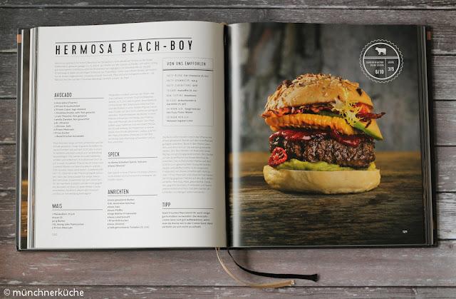Perfekt abgestimmter Burger aus dem Callwey Verlag.
