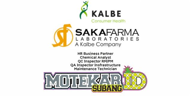 PT Saka Farma Laboratories (Kalbe Consumer Health)