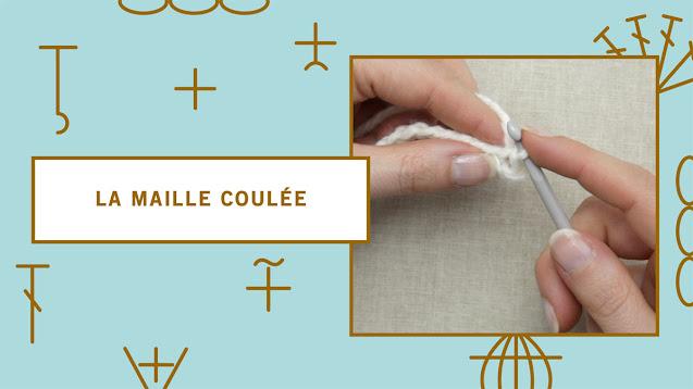 comment faire une maille coulée au crochet