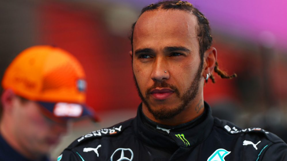 A única vitória de Hamilton em Baku veio em 2018, depois que Bottas sofreu um furo