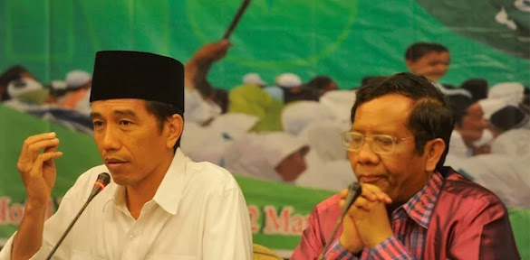 Bukan Airlangga Atau Muhaimin Cawapres Jokowi, Tapi Mahfud?