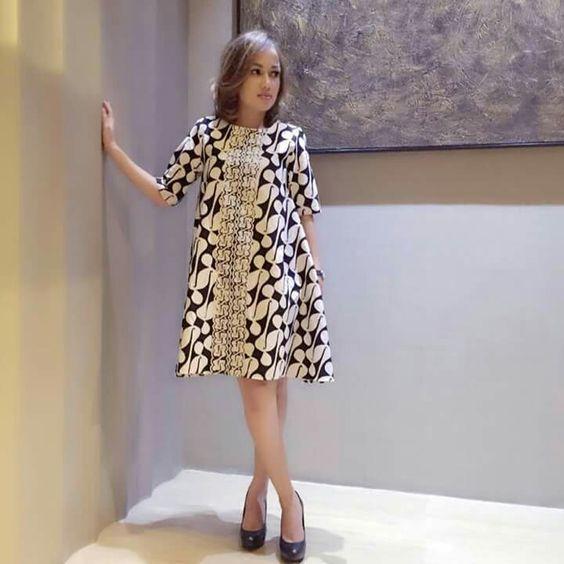 Inspirasi 20 dress batik modern keren untuk remaja - Foto moderne dressing ...
