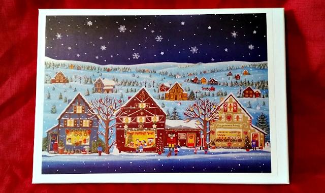 Christmas Scene at Night Jigsaw Puzzle