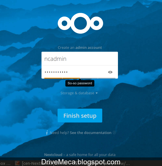 DriveMeca instalando Nextcloud en Linux Ubuntu o Linux Centos paso a paso