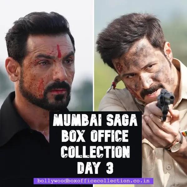 Mumbai Saga Box Office Collection Day 3:  मुंबई सागा के तीसरे दिन बॉक्स ऑफिस कलेक्शन में आया उछाल, जाने कलेक्शन