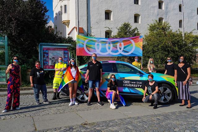 Audi - Parada do Orgulho LGBTQ+ - Alemanha