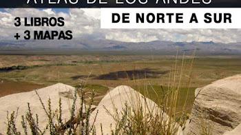 Atlas de los Andes coleccion de libros y mapas