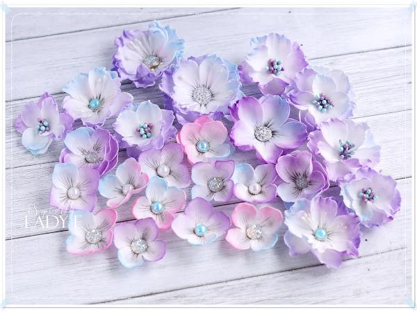 For Mum with Foamiran Flowers / Dla Mamy z Foamiranowymi Kwiatami