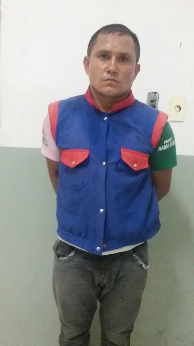 Caxias: Falso mototaxista é preso após cometer assalto