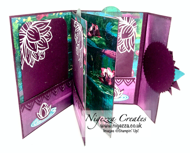 Nigezza Creates with Stampin Up & the FREE Lily Pad Products