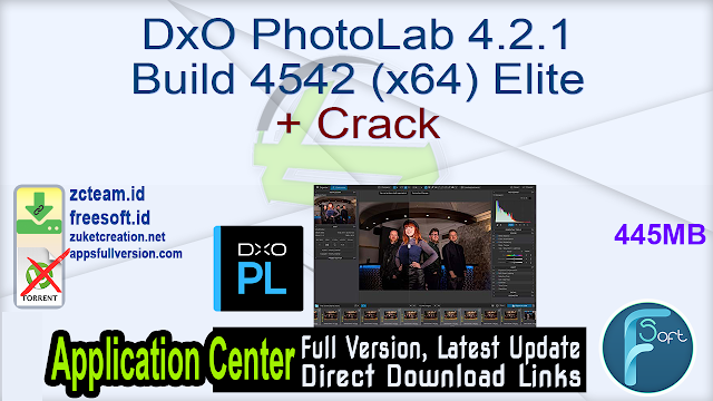 DxO PhotoLab 4.2.1 Build 4542 (x64) Elite + Crack_ ZcTeam.id