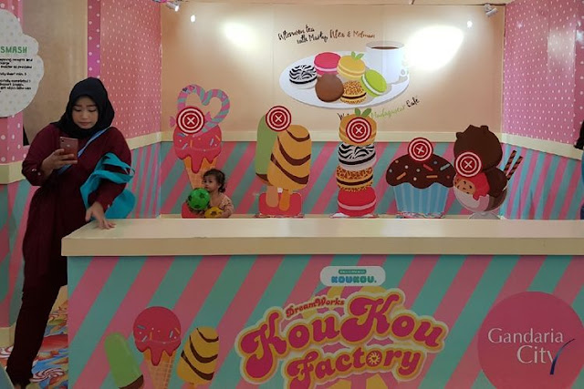 DreamWorks KouKou Factory Hadir Di Gandaria City, Jakarta