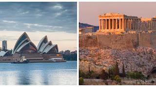 Σε ισχύ από σήμερα η βίζα διακοπών με δικαίωμα εργασίας σε Αυστραλία και Ελλάδα