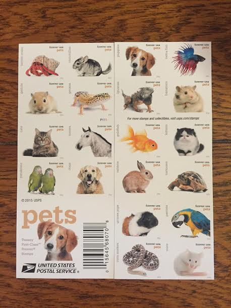 the writer 39 s dog wordless wednesday the new pet stamps are here. Black Bedroom Furniture Sets. Home Design Ideas
