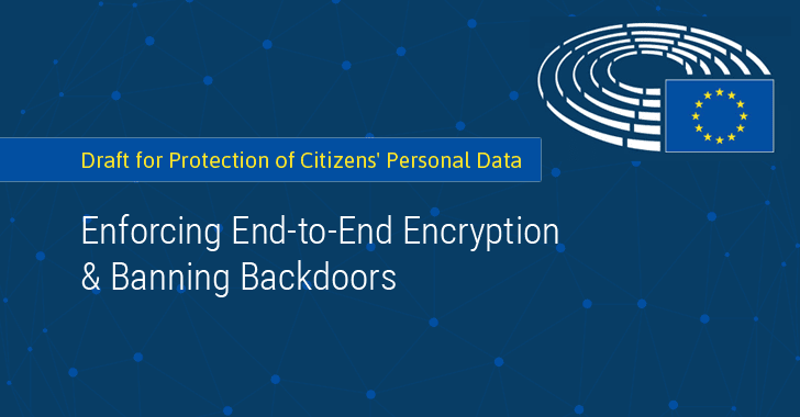 European Parliament Proposes Ban On Encryption Backdoors