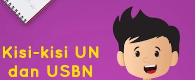Download Kisi Kisi UNBK SMP/MTS 2019/2020 Matematika, IPA, Bahasa Indonesia, Bahasa Inggris
