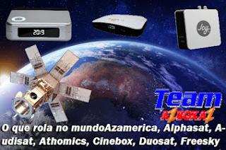 Status Do Dia Dos Receptores: Azamerica, Alphasat, Audisat, Athomics, Cinebox, Duosat, Freesky, Globalsat, Tocomsat, Etc 27/01/21