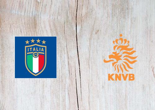 Italy vs Netherlands -Highlights 14 October 2020