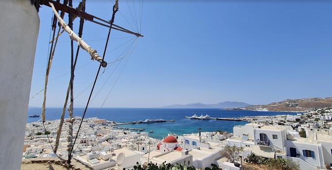 Reportage Mykonos: tra paesaggi mozzafiato & variante Delta