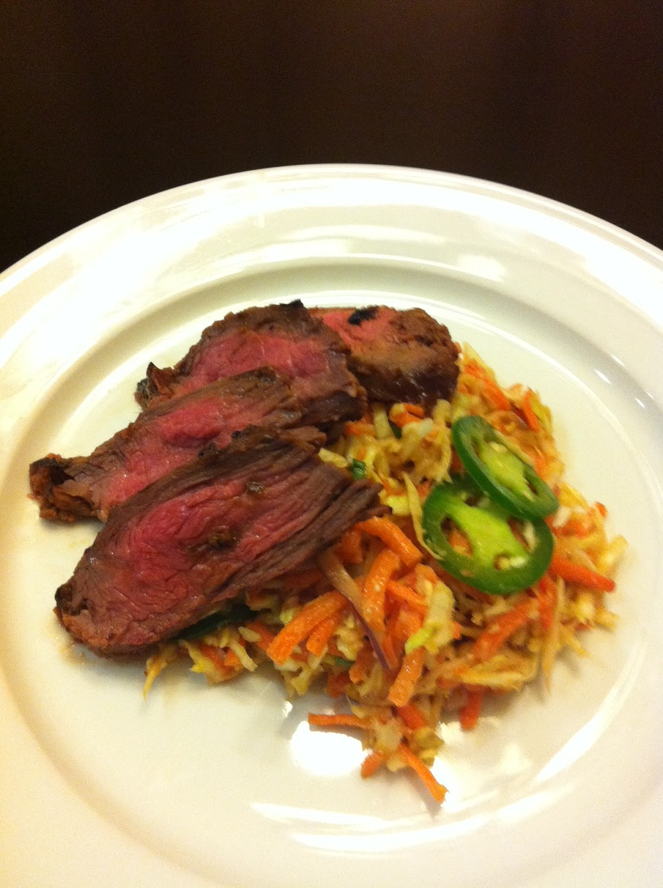 Naked Eats Rxd: Ginger-No Soy Flank Steak with Sweet