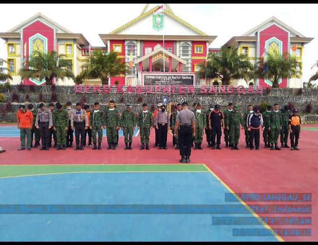Alamat Gedung DPRD Kabupaten  Sanggau