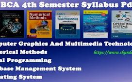BCA 4th Semester Syllabus Pdf