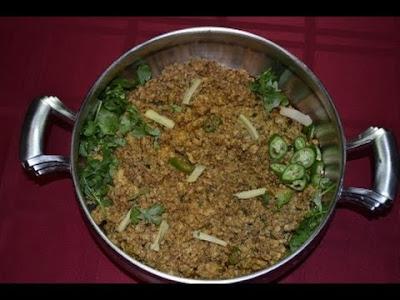 keema karahi recipe in urdu