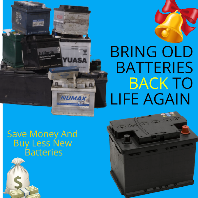 How to Make Old Batteries Work Like New