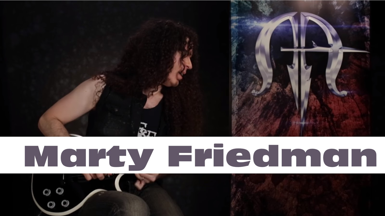 marty friedman showcases his signature jackson mf 1 models. Black Bedroom Furniture Sets. Home Design Ideas