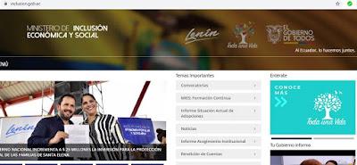 PORTAL WEB DEL MIES ECUADOR