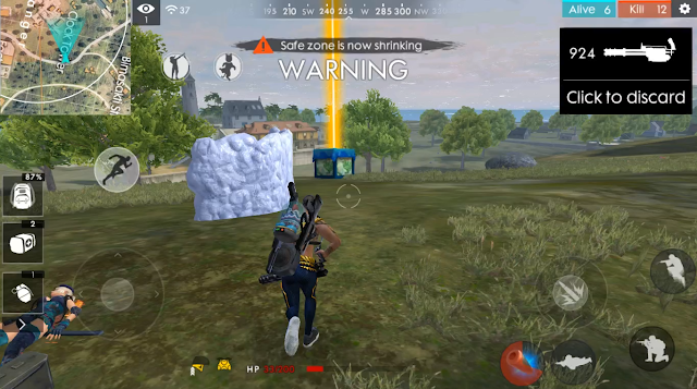 Bahas Lengkap Zona Poison Gatling Gun Advance Server Free Fire