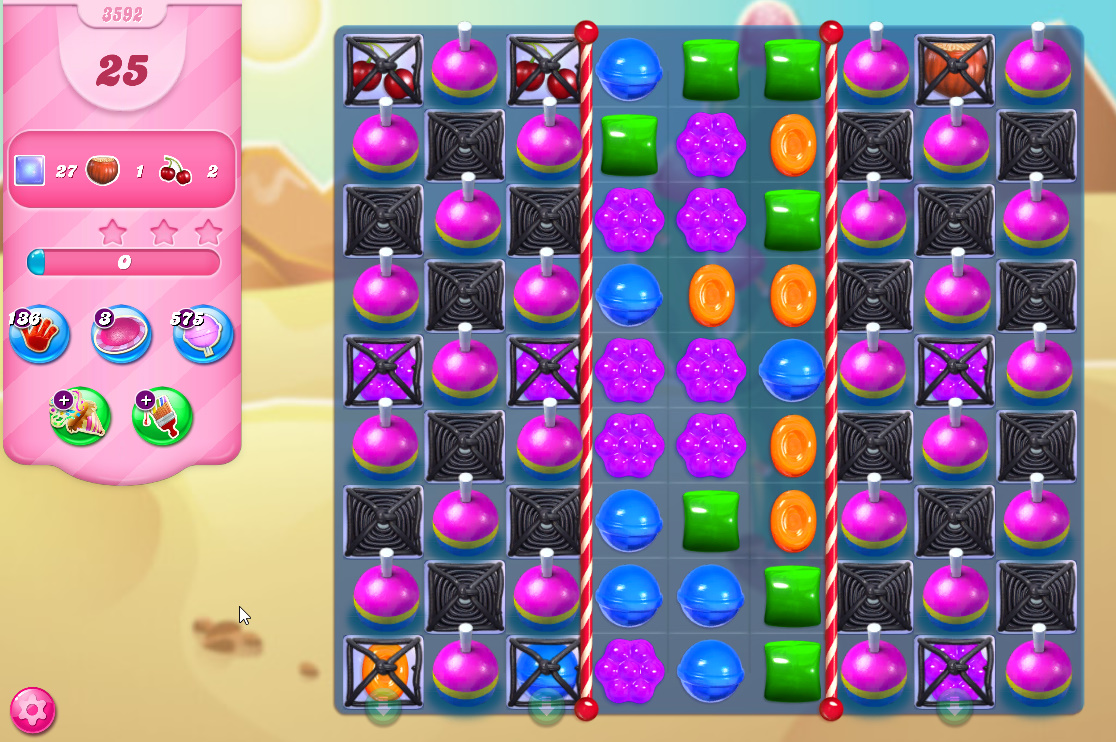 Candy Crush Saga level 3592