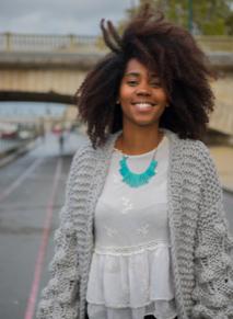 Portrait de Cynthia Milard, fondatrice de WeSlow