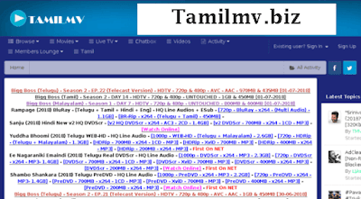 Tamilmv.biz- 2020 Latest HD Bollywood Hollywood Movies Download