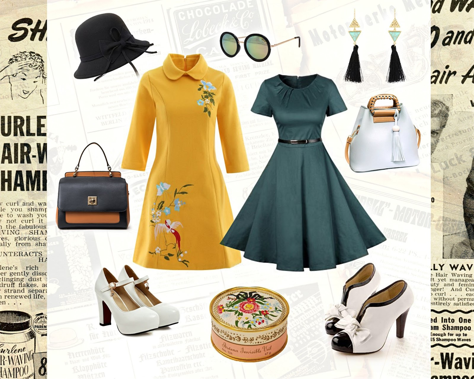 vintage retro 50s 60s outfit ideas how to wear liz breygel