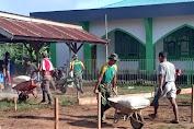Manunggal dengan Rakyat, Yonif 411 Kostrad Karya Bakti di Perbatasan RI-PNG