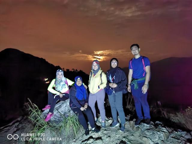 Puncak kedua Bukit Berekeh di Sungai Siput Perak