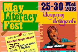 May literacy fest 2016 #Paradepuisi,#pemeranfoto dan #batiktutul