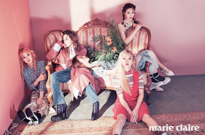 Red Velvet Marie Claire April 2016