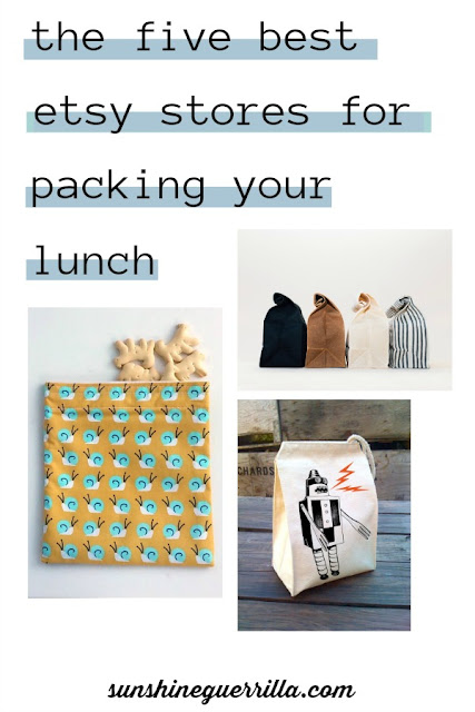 The Five Best Etsy Stores for Packing your Lunch