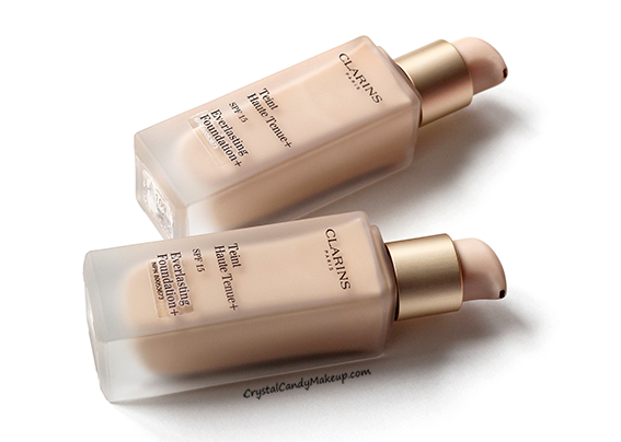 Clarins Everlasting Foundation+ SPF 15 109 Wheat 112 Amber Review
