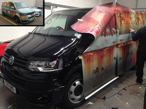 00-Clyde Wraps-Car-Vinyl-Wrap-with-the-Rust-Treatment-www-designstack-co