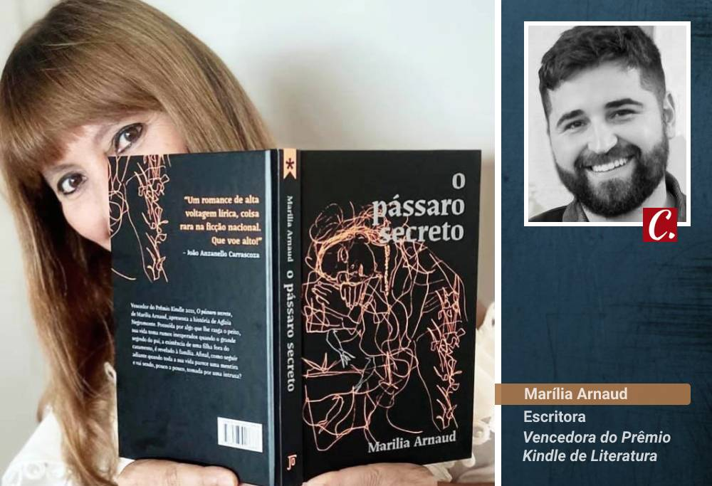 literatura paraibana critica literaria passaro secreto marilia arnaud premio kindle